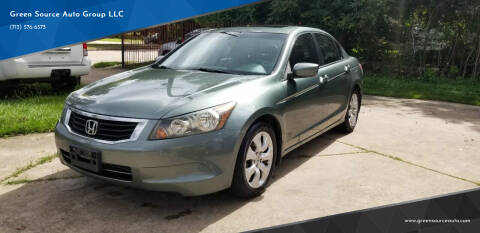 2009 Honda Accord for sale at Green Source Auto Group LLC in Houston TX