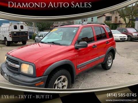 2004 Chevrolet Tracker for sale at Diamond Auto Sales in Milwaukee WI