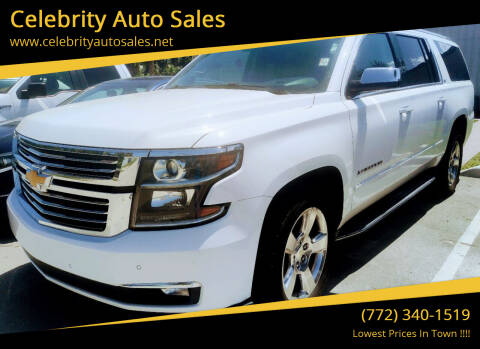 2015 Chevrolet Suburban for sale at Celebrity Auto Sales in Fort Pierce FL