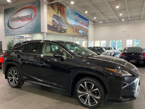 2019 Lexus RX 450h for sale at Godspeed Motors in Charlotte NC