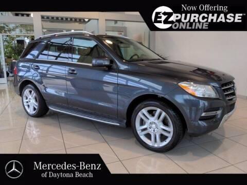 2015 Mercedes-Benz M-Class for sale at Mercedes-Benz of Daytona Beach in Daytona Beach FL