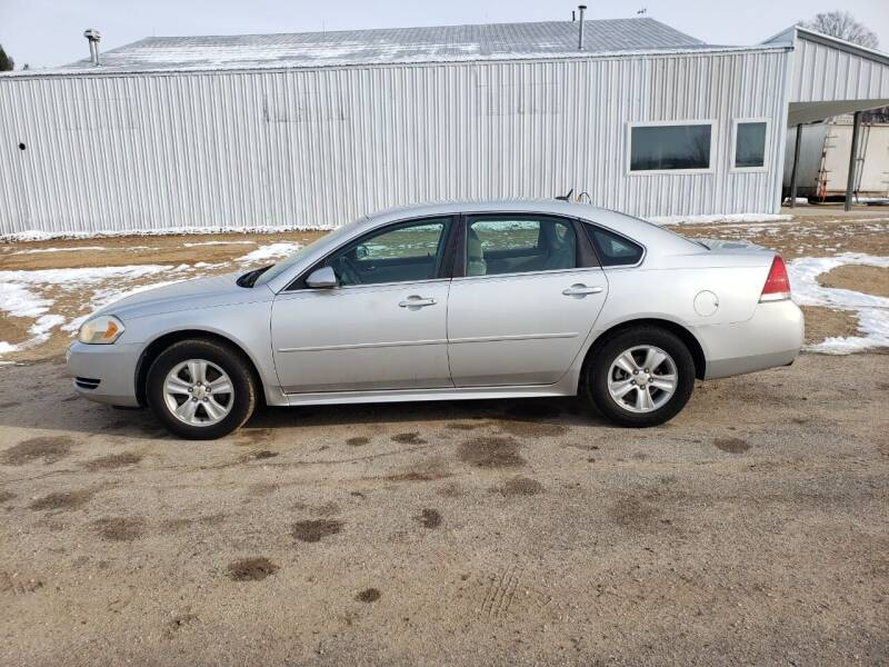 2012 Chevrolet Impala for sale at Steve Winnie Auto Sales in Edmore MI