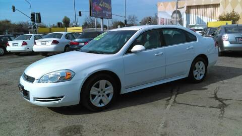 2011 Chevrolet Impala for sale at Larry's Auto Sales Inc. in Fresno CA