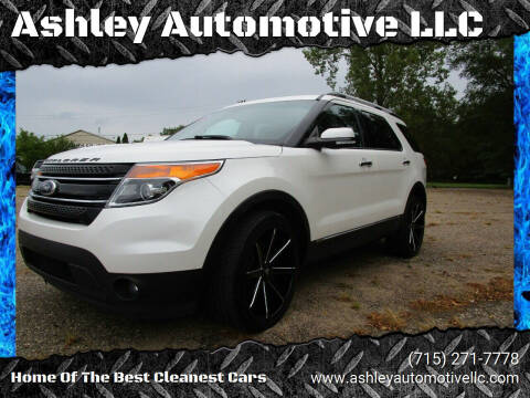 2013 Ford Explorer for sale at Ashley Automotive LLC in Altoona WI