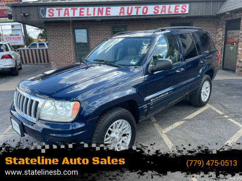 2004 Jeep Grand Cherokee for sale at Stateline Auto Sales in South Beloit IL