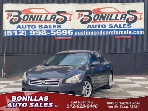 2013 Nissan Maxima for sale at Bonillas Auto Sales in Austin TX