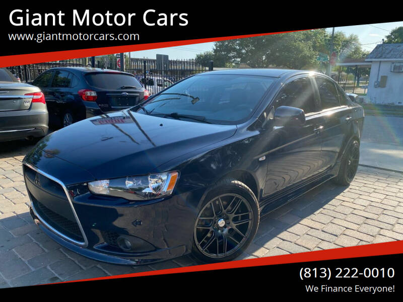 2013 Mitsubishi Lancer for sale at Giant Motor Cars in Tampa FL