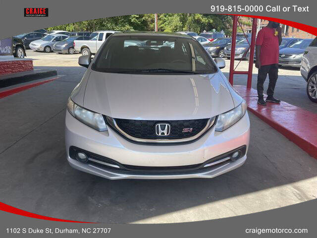 2013 Honda Civic for sale at CRAIGE MOTOR CO in Durham NC