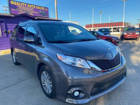 2017 Toyota Sienna for sale at Quality Auto Sales LLC in Garland TX