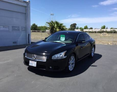 2009 Nissan Maxima for sale at My Three Sons Auto Sales in Sacramento CA