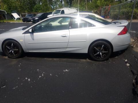 2002 Mercury Cougar for sale at Bonney Lake Used Cars in Puyallup WA