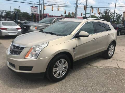 2012 Cadillac SRX for sale at SKYLINE AUTO in Detroit MI