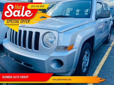 2008 Jeep Patriot for sale at BUENDIA AUTO GROUP in Hasbrouck Heights NJ