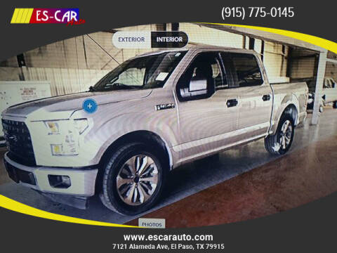 2017 Ford F-150 for sale at Escar Auto in El Paso TX