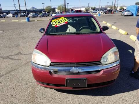 2005 Chevrolet Malibu for sale at CAMEL MOTORS in Tucson AZ