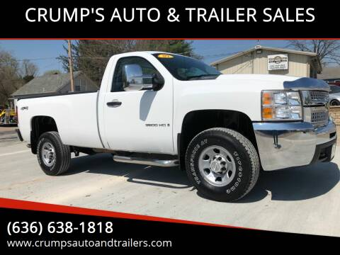 2009 Chevrolet Silverado 3500HD for sale at CRUMP'S AUTO & TRAILER SALES in Crystal City MO