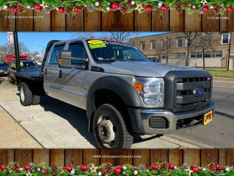 2012 Ford F-550 Super Duty for sale at 6 STARS AUTO SALES INC in Chicago IL