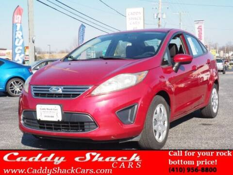 2011 Ford Fiesta for sale at CADDY SHACK CARS in Edgewater MD