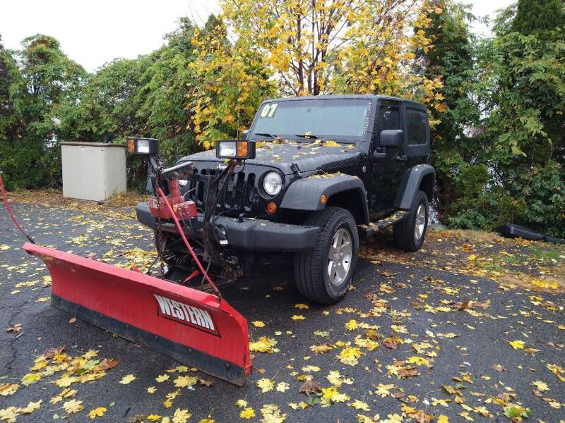 2007 Jeep Wrangler for sale at P J McCafferty Inc in Langhorne PA