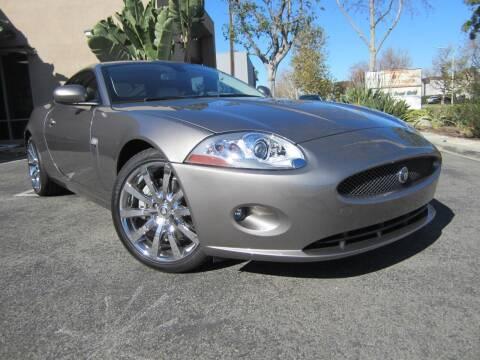 2008 Jaguar XK-Series for sale at ORANGE COUNTY AUTO WHOLESALE in Irvine CA