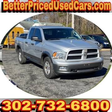 2011 RAM Ram Pickup 1500 for sale at Better Priced Used Cars in Frankford DE