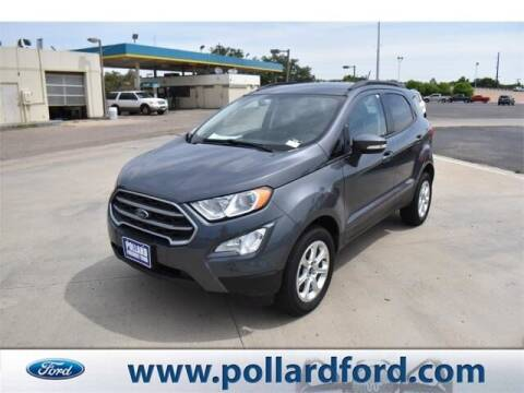 2020 Ford EcoSport for sale at South Plains Autoplex by RANDY BUCHANAN in Lubbock TX