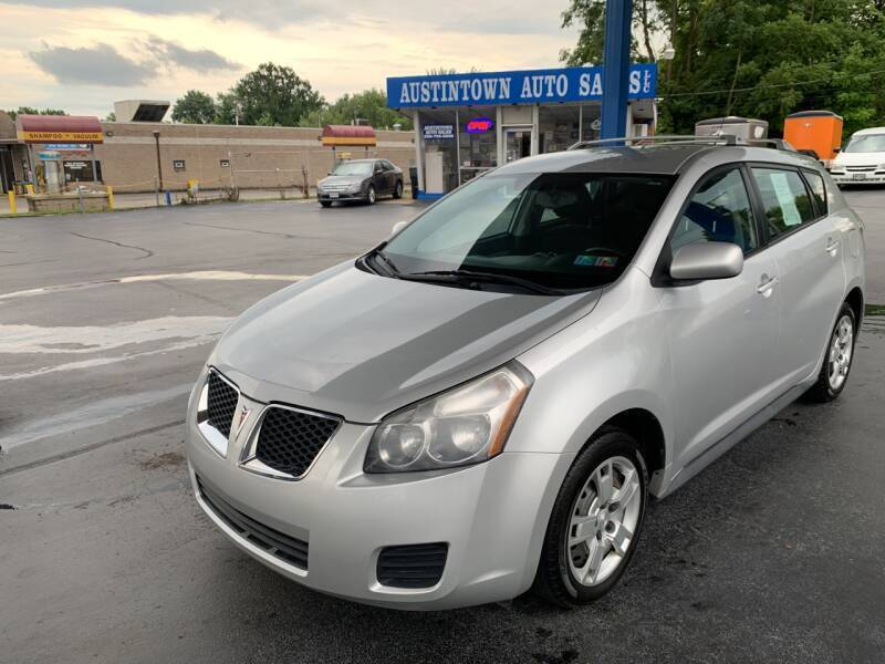 2009 Pontiac Vibe for sale at Austintown Auto Sales LLC in Austintown OH