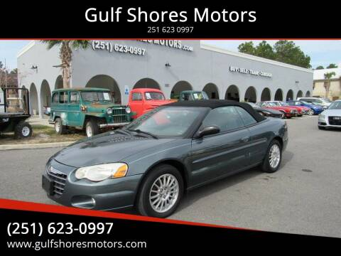 2006 Chrysler Sebring for sale at Gulf Shores Motors in Gulf Shores AL