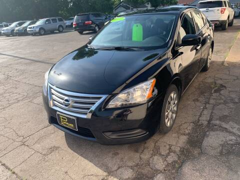 2014 Nissan Sentra for sale at PAPERLAND MOTORS in Green Bay WI