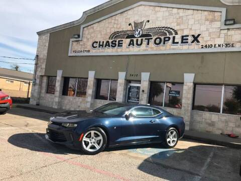 2016 Chevrolet Camaro for sale at CHASE AUTOPLEX in Lancaster TX
