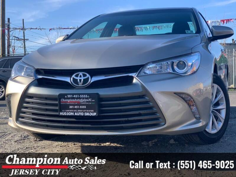 2017 Toyota Camry for sale at CHAMPION AUTO SALES OF JERSEY CITY in Jersey City NJ