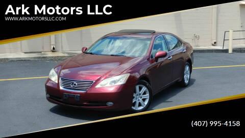 2008 Lexus ES 350 for sale at Ark Motors LLC in Winter Springs FL