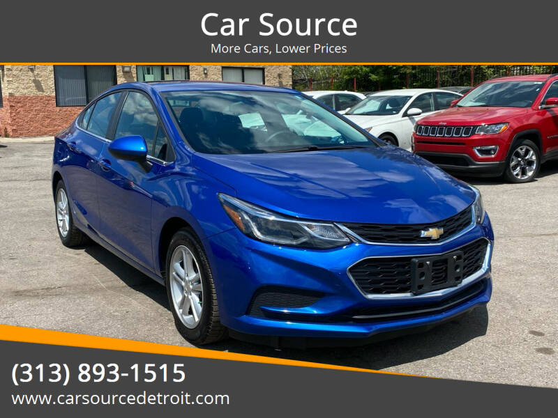 2016 Chevrolet Cruze for sale at Car Source in Detroit MI
