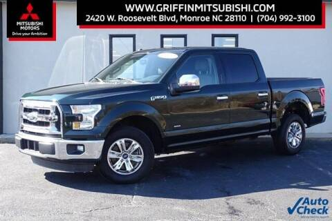 2016 Ford F-150 for sale at Griffin Mitsubishi in Monroe NC