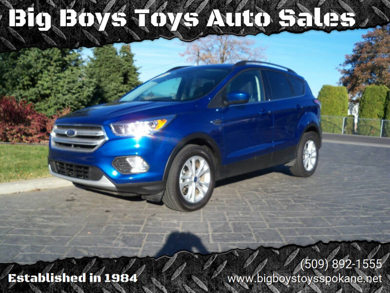 2018 Ford Escape for sale at Big Boys Toys Auto Sales in Spokane Valley WA