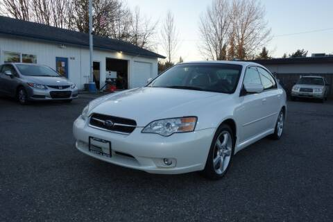2006 Subaru Legacy for sale at Leavitt Auto Sales and Used Car City in Everett WA