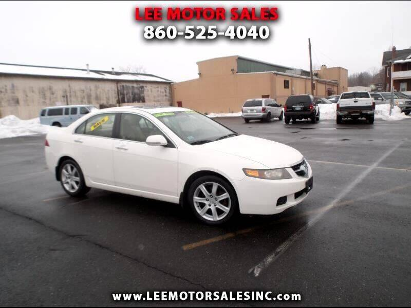 2005 Acura TSX for sale at Lee Motor Sales Inc. in Hartford CT