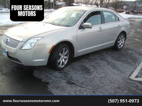 2010 Mercury Milan for sale at FOUR SEASONS MOTORS in Plainview MN