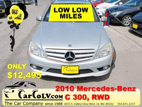 2010 Mercedes-Benz C-Class for sale at The Car Company in Las Vegas NV