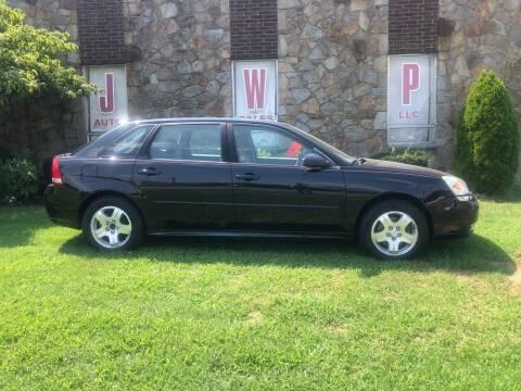 2005 Chevrolet Malibu Maxx for sale at JWP Auto Sales,LLC in Maple Shade NJ