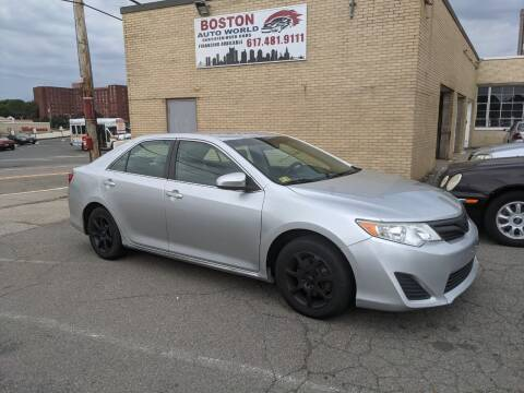 2014 Toyota Camry for sale at Boston Auto World in Quincy MA