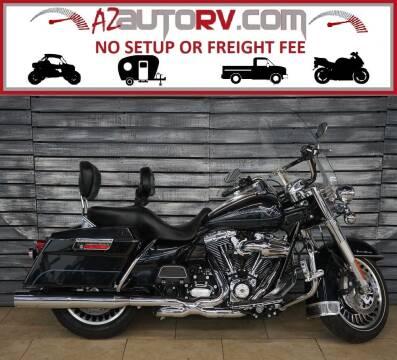 2013 Harley-Davidson Road King for sale at Motomaxcycles.com in Mesa AZ