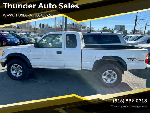 2004 Toyota Tacoma for sale at Thunder Auto Sales in Sacramento CA
