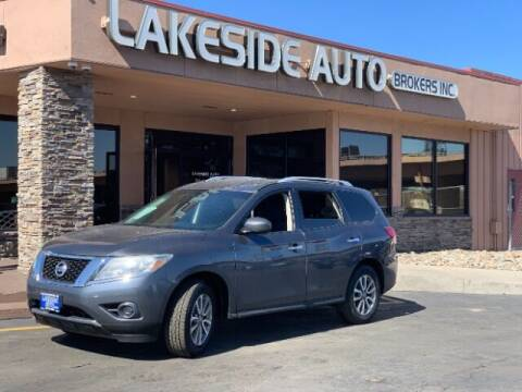 2013 Nissan Pathfinder for sale at Lakeside Auto Brokers Inc. in Colorado Springs CO