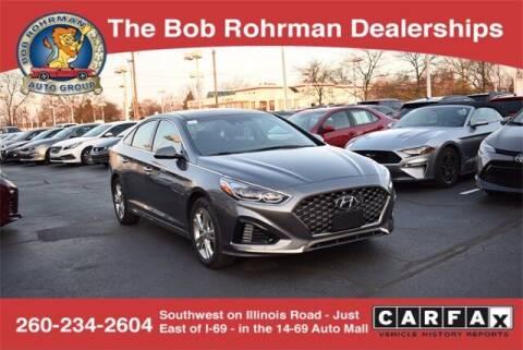 2019 Hyundai Sonata for sale at BOB ROHRMAN FORT WAYNE TOYOTA in Fort Wayne IN