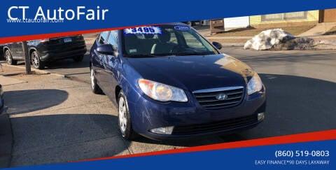 2008 Hyundai Elantra for sale at CT AutoFair in West Hartford CT