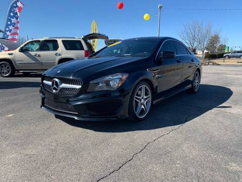 2014 Mercedes-Benz CLA for sale at Bagwell Motors in Lowell AR