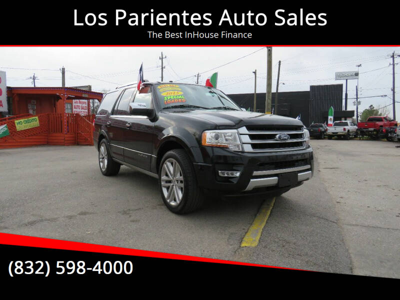 2015 Ford Expedition for sale at Los Parientes Auto Sales in Houston TX