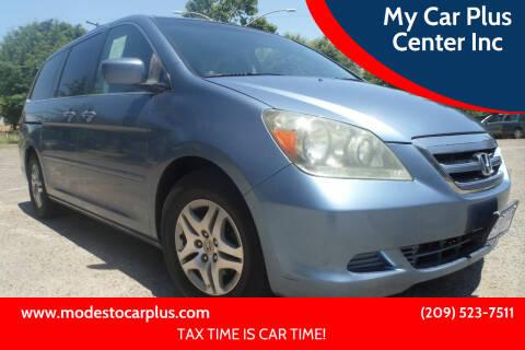 2007 Honda Odyssey for sale at My Car Plus Center Inc in Modesto CA