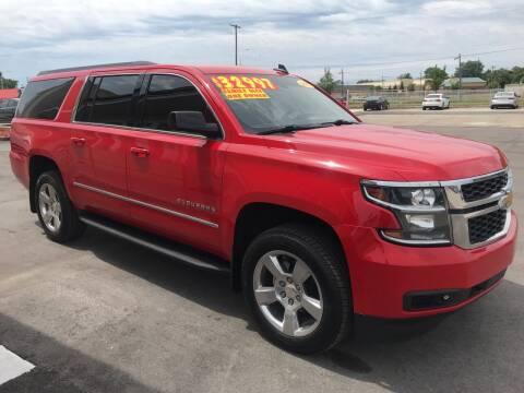 2017 Chevrolet Suburban for sale at Suarez Auto Sales in Port Huron MI